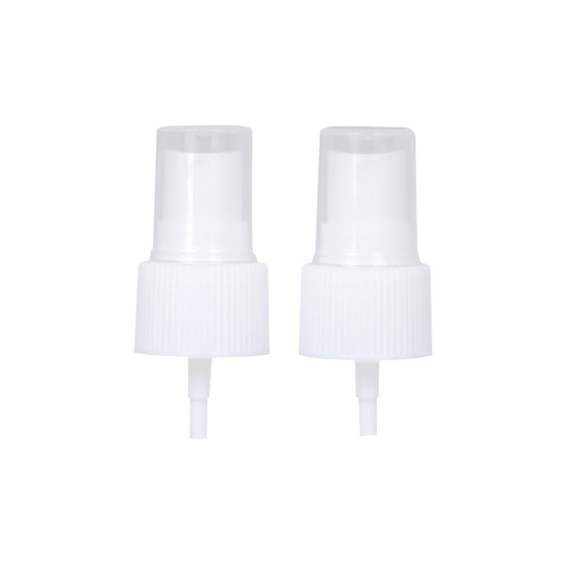 Wholesale 24/410 White Ribbed Plastic Fine Mist Sprayer Pump For Bottle